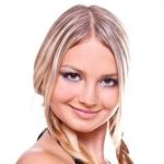 макияж для круглого лица фото
