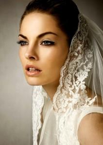 свадебный макияж со стрелками