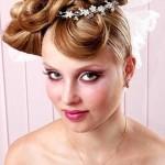 свадебный макяиж для голубых глаз