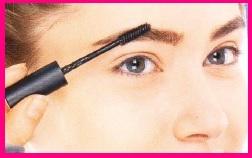 брови для вечернего макияжа