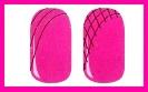 розовый маникюр схема