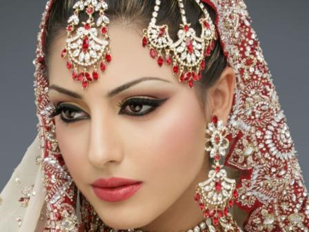 макияж в восточном стиле