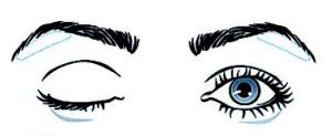 как красить выпуклые глаза