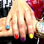 сочетания цветов на ногтях