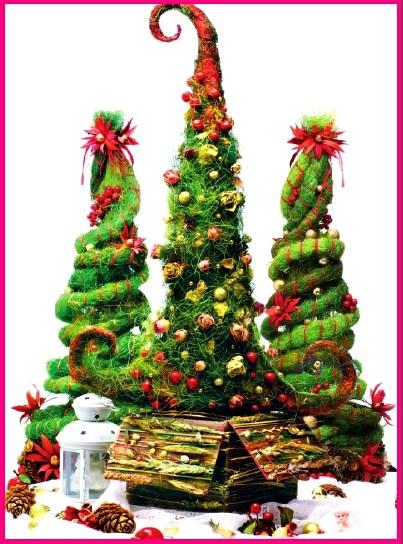 елка из сизаля