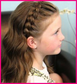 прически на длинные волосы в школу