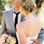 свадебная прическа - 30 фото
